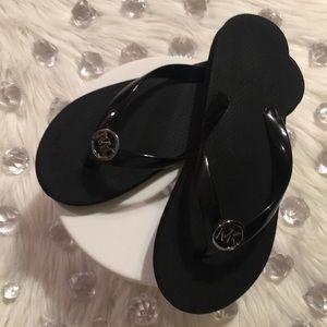 MICHAEL KORS *Black Flip Flops Sandals*